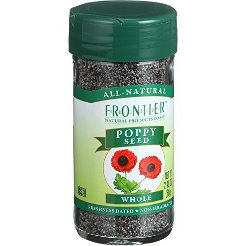 Frontier Naturals Whole Poppy Seed -- 2.4 oz ( Multi-Pack)