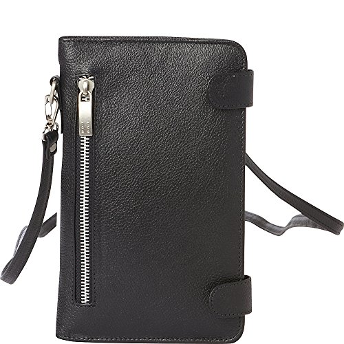 Strap Organizer With Black Leather Piel 7CwqvxUv