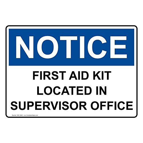 Review Osha Notice First Aid