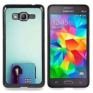 BullDog Case - FOR Samsung Galaxy On7 G6000 - Purple Lights Night Dark Violet - Dise???¡¯???¡Ào para el caso de la cubierta de pl???¡¯????stico Chicas