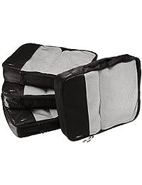 AmazonBasics Bolsas organizadoras de equipaje, 4 unidades grandes