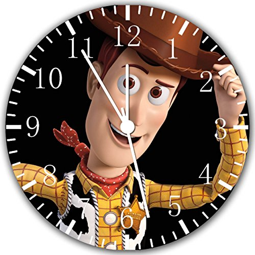 Toy Story Woody Frameless Borderless Wall Clock W81 Nice for Gift or Room Wall Decor -