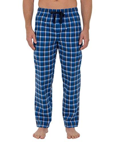 Fruit of the Loom Men's Woven Pajama Pant, Navy Medium (Tall Mens Pants Pajama)