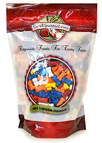 Concord ASSORTED BONZ Dog Bone Shaped Candy, 1.5Lb