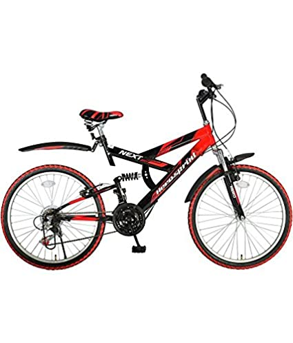 Buy Hero Next 24T 18 Speed Mountain Cycle (Red Black) Online at Low Prices  in India - Amazon.in b29e49327