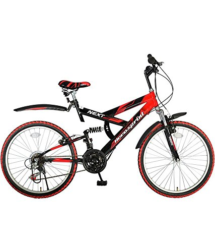 Hero Next 24T 18 Speed Mountain Cycle (Red/Black)