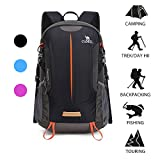 Camel Waterproof Hiking Backpack Travel Backpack Outdoor Backpack Lightweight & Durable