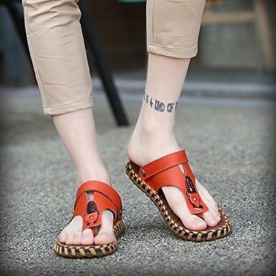 @Sandals Hommes, Chaussons, Nouvelle Plage D'Antidérapage Chaussures, Pantoufles Pour Hommes.