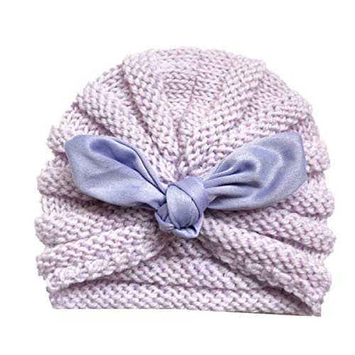 Baby Hat for Girls Candy Color Baby Turban Hats Newborn Baby Cap for Boys