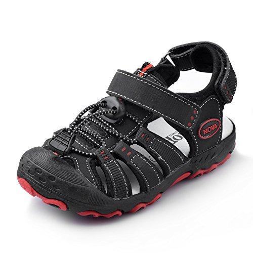 Nova Toddler Little Boys Summer Sandals NF Boy NFBS124 Black 8