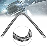 MONNY Stainless Steel Diameter 22mm for Car Truck Air Heater Tank Exhaust Pipe Gas Vent Hose