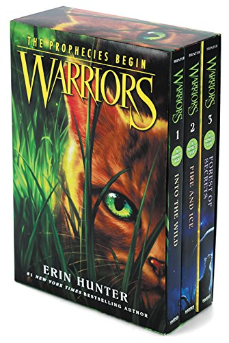 Warriors Box Set: Volumes 1 to 3: Into the Wild, Fire and Ice, Forest of Secrets (Warriors: The Prophecies Begin) (Into The Wild Vocabulary With Page Numbers)