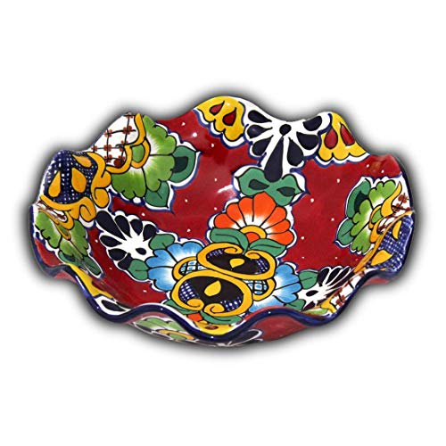 - Fruit Bowl Mexican Talavera (Red)