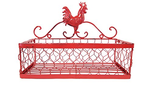 deep-red-iron-rooster-wall-shelf