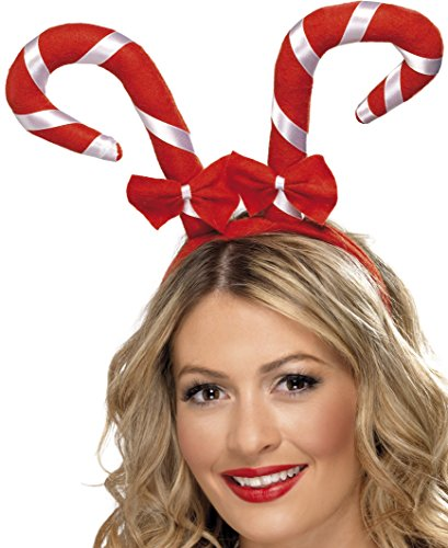 Candy Cane Frog (Candy Cane Headband, Red & White)