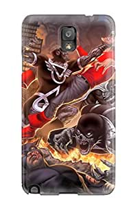 linJUN FENGHigh-end Case Cover Protector For Galaxy Note 3(blackest Night)