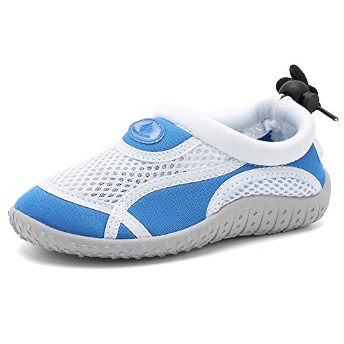 CIOR Toddler Water Shoes Aqua Shoe Swimming Pool Beach Sports Quick Drying Athletic Shoes for Girls and ()