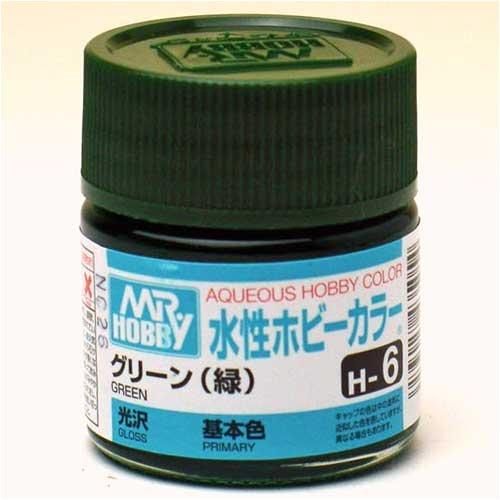 水性ホビーカラー H6 グリーン