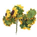 100pcs-Artificial-Flower-Sunflower-Bouquet-for-Home-Wedding-Decoration