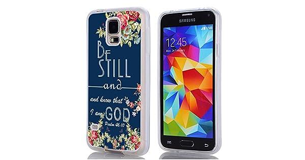 Amazon.com: S5 caso Christian Quotes, Samsung Galaxy S5 Caso ...