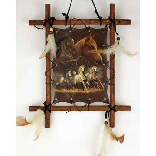(OBI Framed Indian Picture Native American Art 9 X 11 inch (Including Frame) Reproduction ...)
