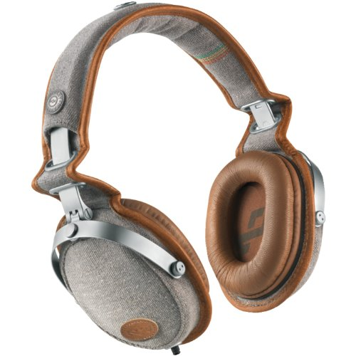 House of Marley EM-JH063-SD Marley Rise Up Saddle On-Ear Headphones Discontinued by Manufacturer