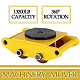 Dollies by Feiuruhf, Machinery Mover 6T 13200LB