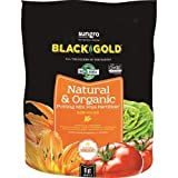 Sun Gro Black Gold 1302040 8-Quart All Organic Potting Soil