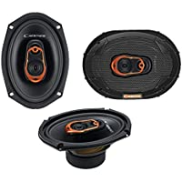 Cadence QRS69 500W 6x9 3-Way QSR Series Coaxial Car Speakers