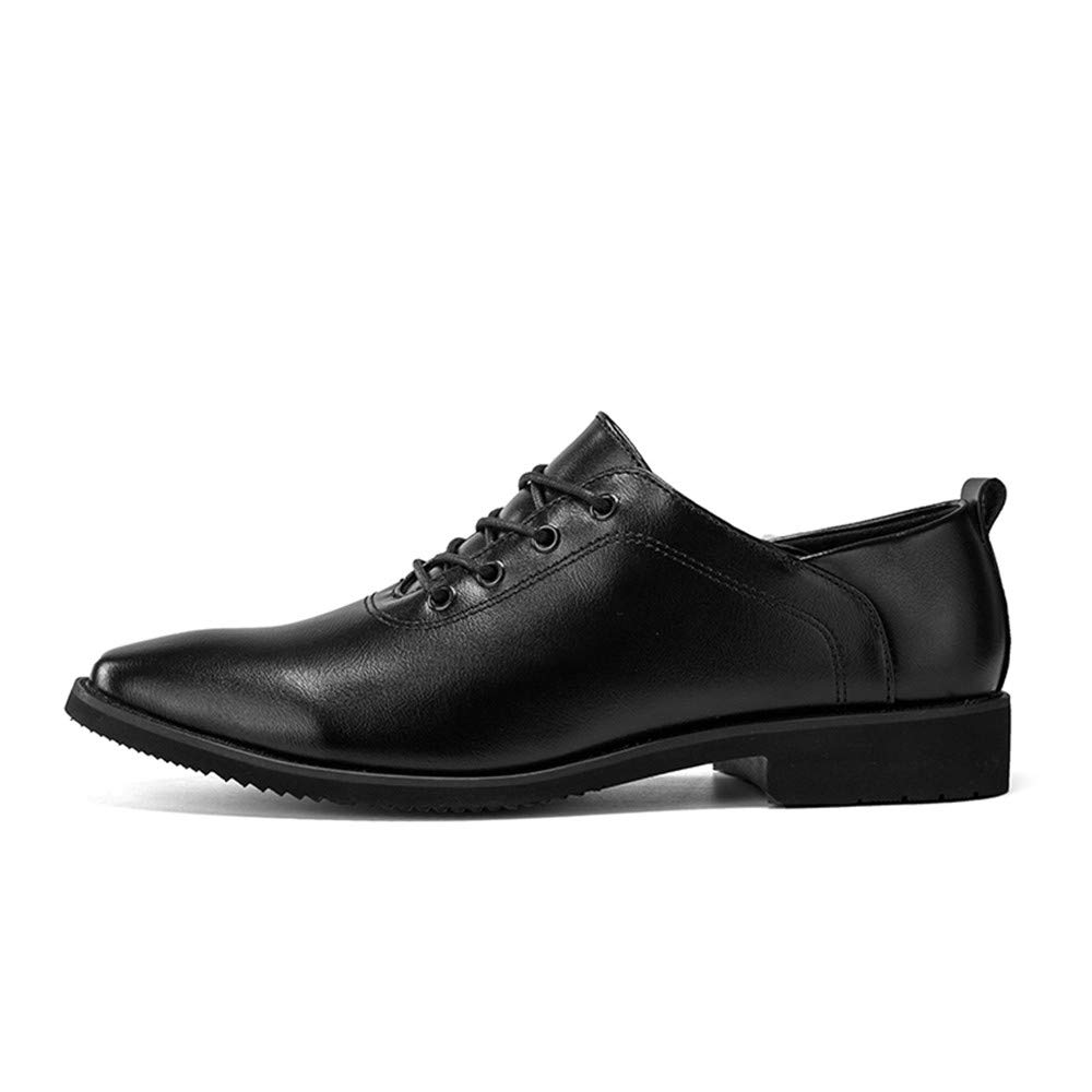 Amazon.com: Gobling Mens Oxford Shoes Pointed Toe Lace up Casual Shoes for Formal Business Wedding Dress Shoes: Clothing