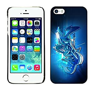 diy case Smartphone Funny Back Image Picture Case Cover Protection Black Edge for Apple iphone 4 4s - Street graffiti