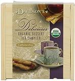 Davidson's Tea Dessert Sampler Tea Chest, 6 Assorted Teabag