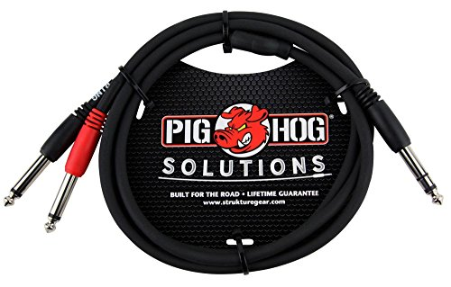 Transparent Rca Interconnect Cable (Pig Hog Solutions - 6
