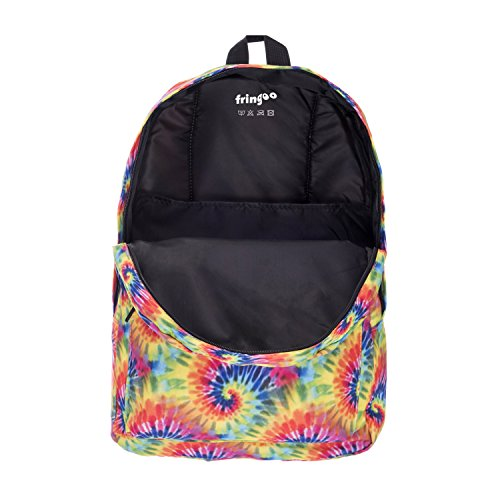 Luggage Cabin Fringoo Fully Dye Tie Women's Backpack Rucksack Gym Printed School Travel nUY0YBqfw