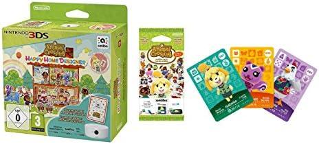 Animal Crossing: Happy Home Designer + 1 Tarjeta Amiibo + Lector ...