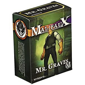 Wyrd Miniatures Malifaux Neverborn Mr. Graves Model Kit