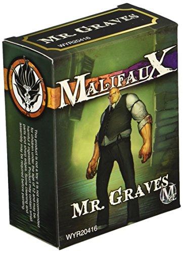 Wyrd Miniatures Malifaux Neverborn Mr. Graves Model Kit 3