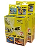 Tear-Aid Vinyl Inflatable Repair Kit, Yellow Box Type B