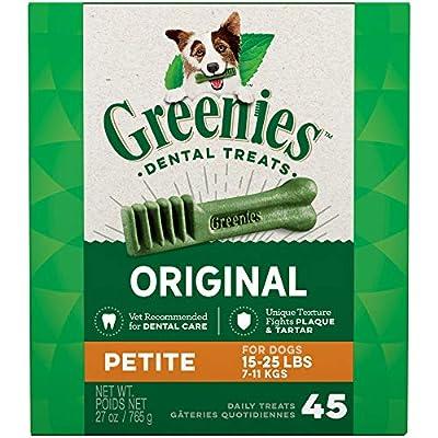 GREENIES Original Petite Natural Dog Dental Care Chews Oral Health Dog Treats