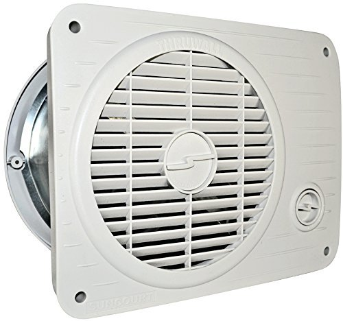 Suncourt TW208P Thru Wall Fan Hardwired Variable - Fixed Mount Speed High