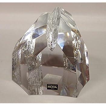 Hoya Crystal Large Iceberg Paperweight