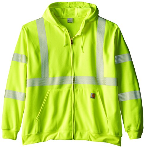 Tall High Visibility Class 3 Sweatshirt,Brite Lime,XX-Large Tall ()