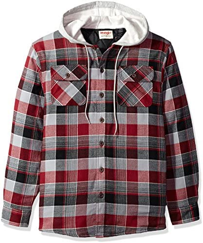 Wrangler Authentics Sleeve Quilted Flannel product image