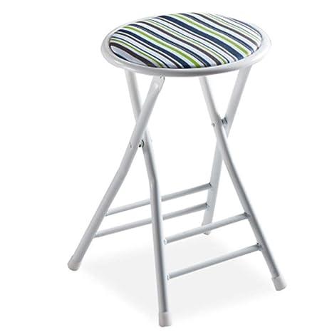 Stupendous Amazon Com Home Folding Stool Portable 19 Inch Folding Forskolin Free Trial Chair Design Images Forskolin Free Trialorg