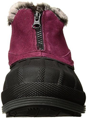 Propét Womens Lumi Ankle Zip Snow Boot Berry