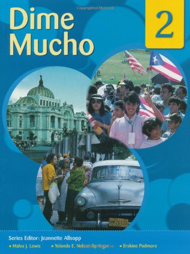 Read Online Dime: Spanish for Caribbean Secondary Schools Student's Pack 2: Dime Mucho pdf
