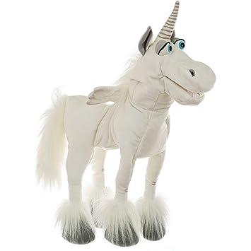 Stofftiere Handpuppe Einhorn Unicorn Puppe