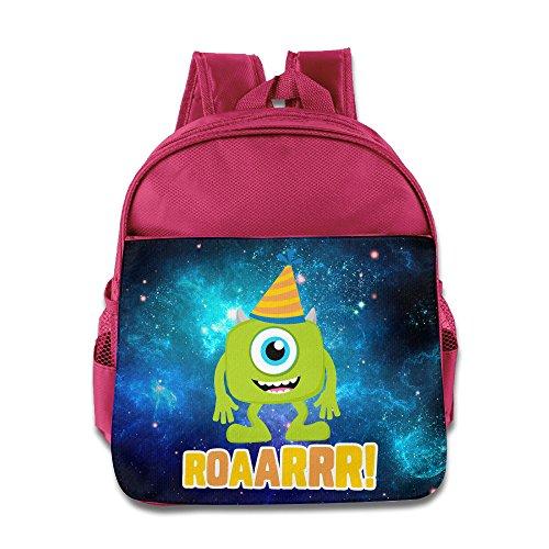 Monsters Inc Roaarrr Custom Unisex Child School Bag Soft (Googly Bear Monsters Inc)