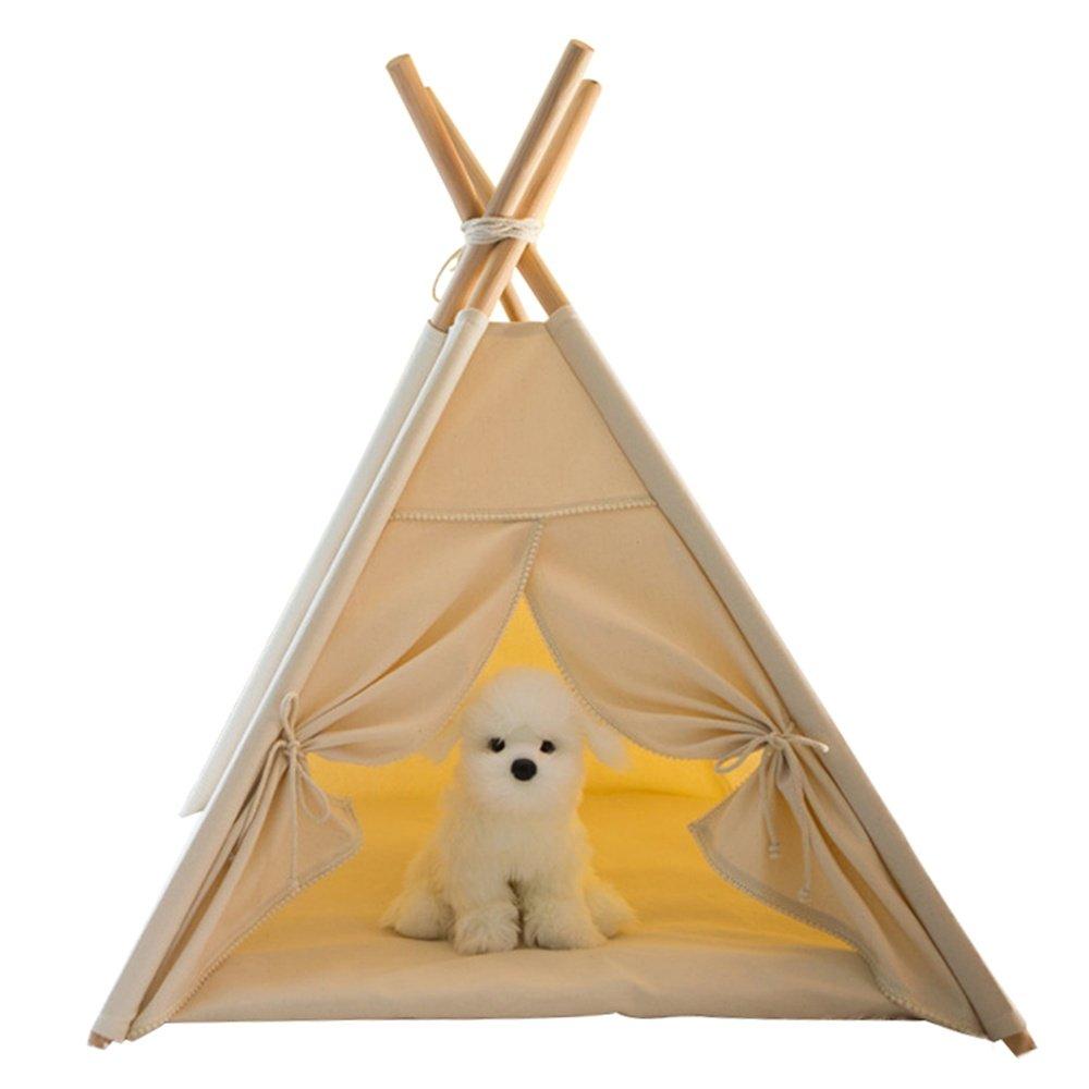 Reducción de precio SASA Nido de Mascotas Tienda de Perro Grueso Perros pequeños y medianos Jaula de Perro Perrera, 60x60