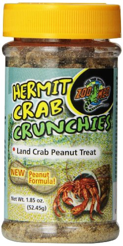 Zoo Med Hermit Crab Peanut Crunchies, 1.85-Ounce ()